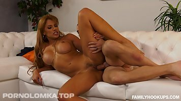 Mercedes Carrera is a smoking hot milf who likes to suck her step son's dick